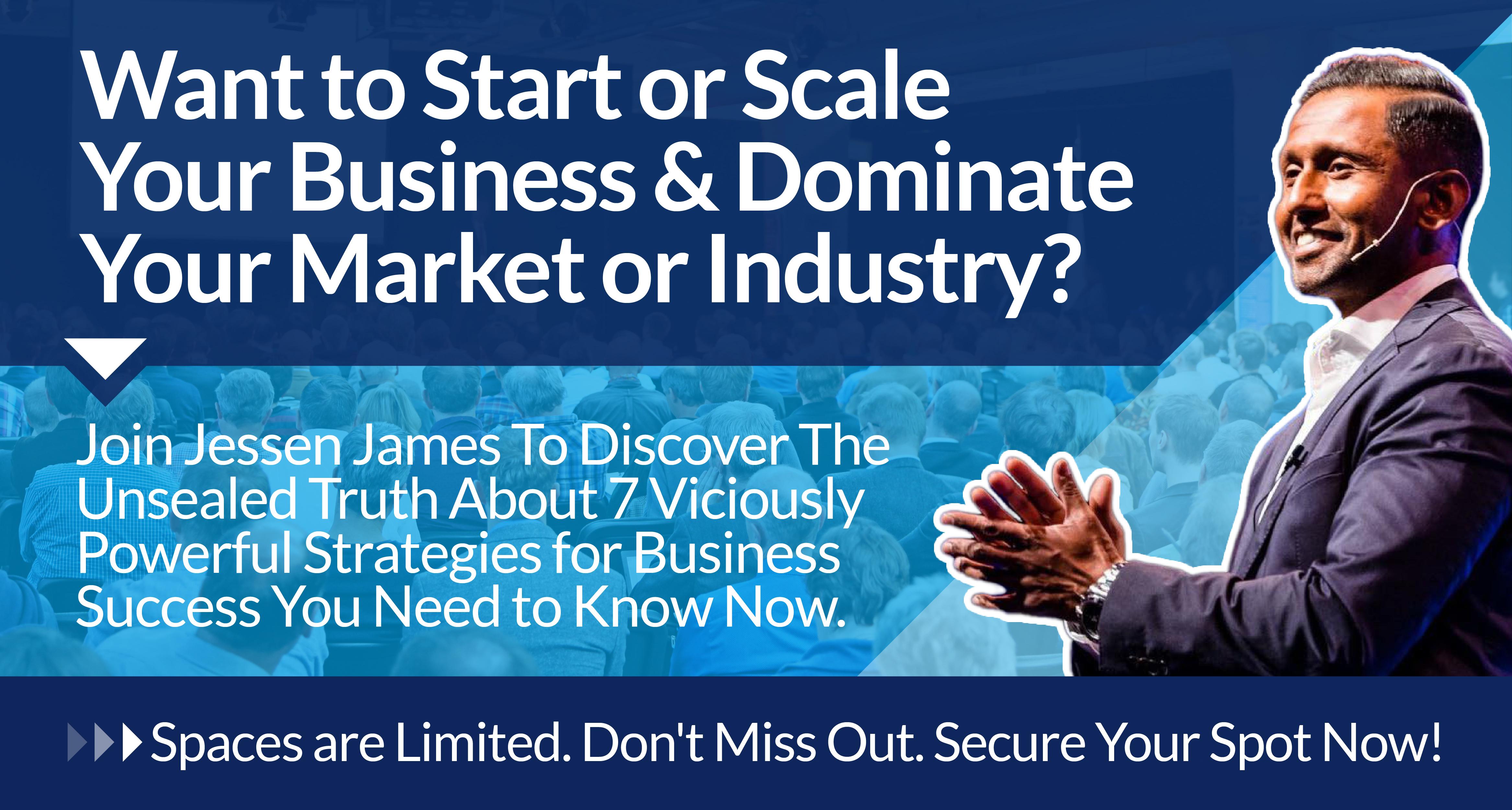 Business Training Courses with Jessen James + Progressive Success